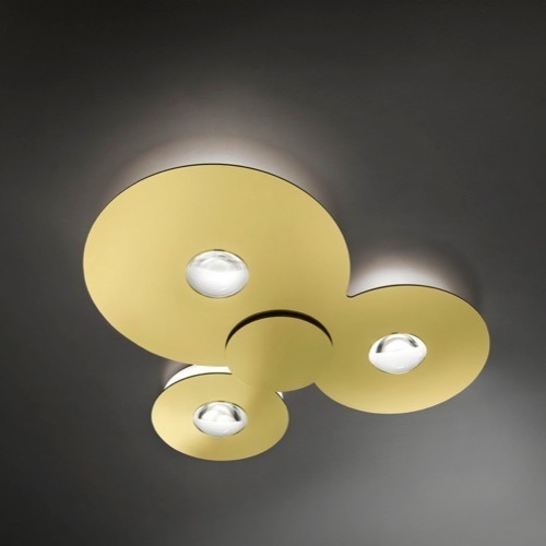 bugia triple z ota studio italia design lampa sufitowa led sklep. Black Bedroom Furniture Sets. Home Design Ideas
